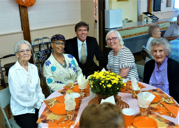 Seniors Celebrate Council at Luncheon
