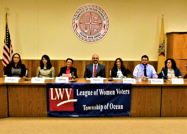 League of Women Voters Hold Ocean BOE Candidate Review