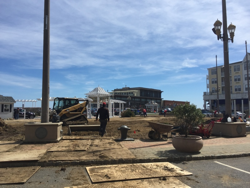 Pier Village Festival Plaza Makeover