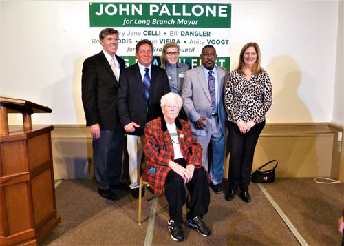 John Pallone Kicks Off Mayoral Campaign