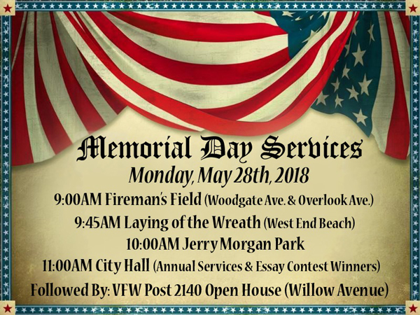 Long Branch Memorial Day Observances