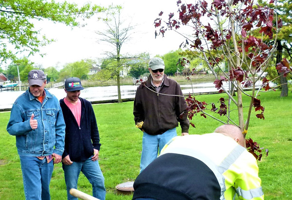 Long Branch Tree Planting