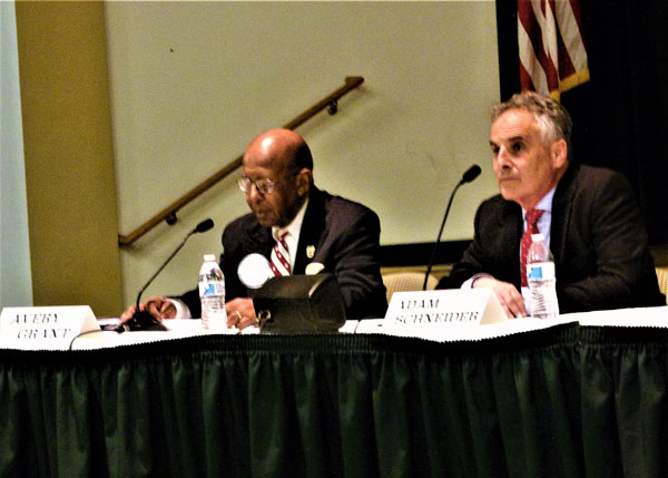 Long Branch Politicos Debate