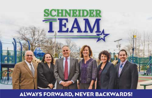 Mayor Schneider & Team Kick-Off Campaign