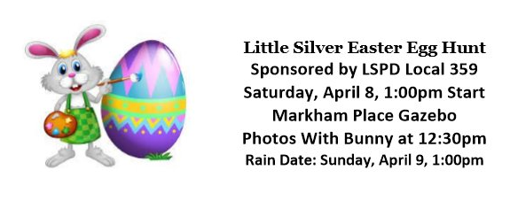 Little Silver Easter Egg Hunt