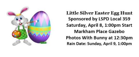 Little Silver Easter Egg Hunt