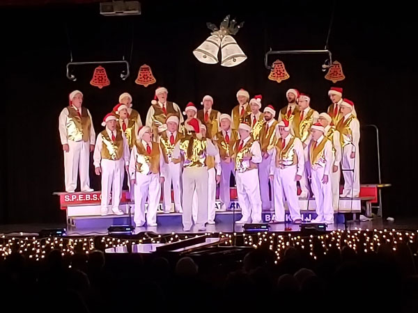 Barbershop Society Ringing in the Holidays at Ocean High School