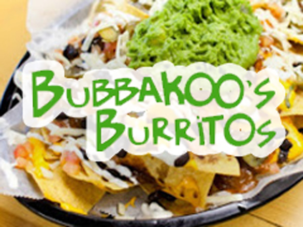 Bubbakoo's Burritos Opening Soon