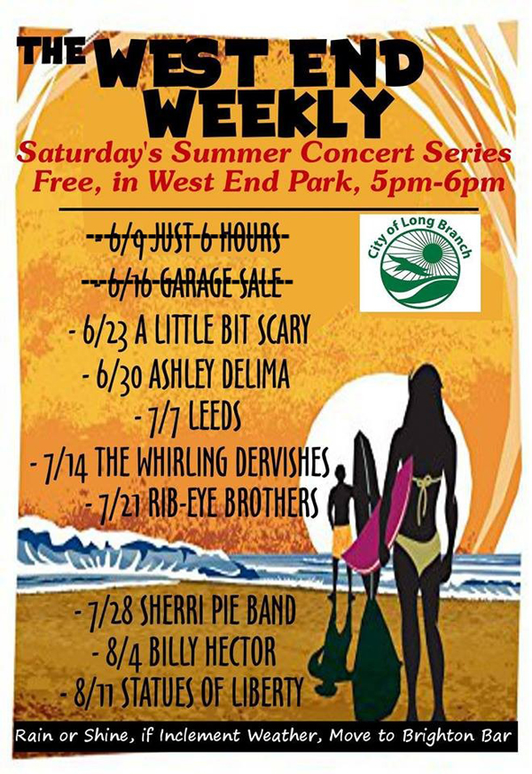 Summer Concert Series Schedule