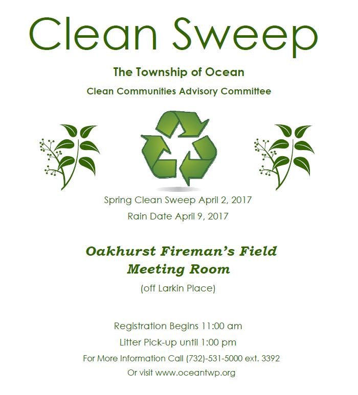 Ocean Township - Clean Sweep